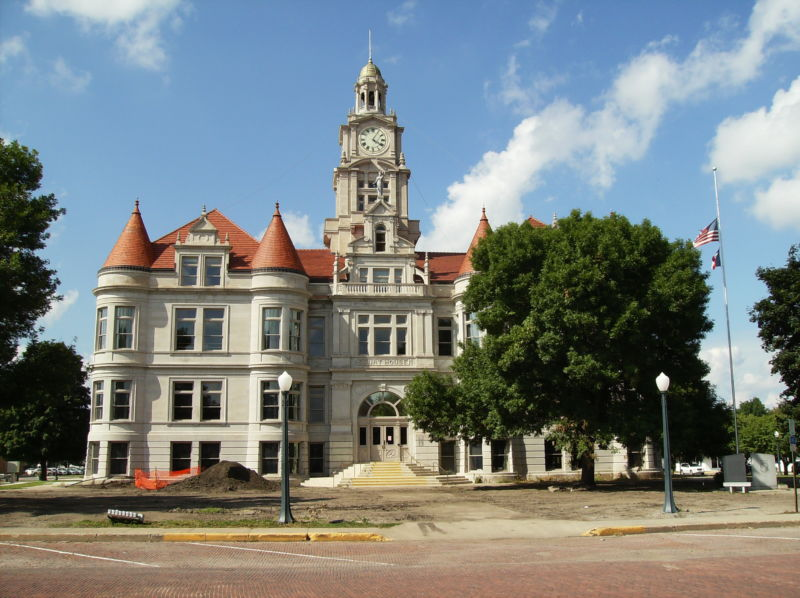 The Dallas County, Iowa courthouse, the site of a penetration test gone spectacularly wrong.