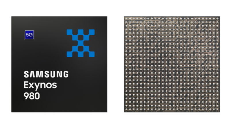 Samsung's Exynos 980 brings more device integration into the SoC, increasing battery life and allowing for more powerful auxiliary processors.