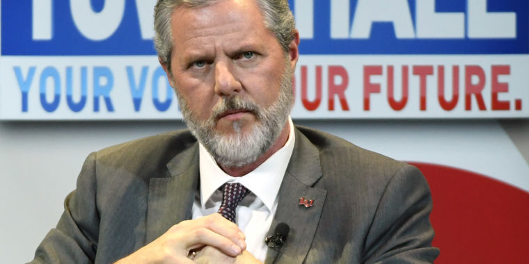 Forwarding email is a crime, Jerry Falwell Jr. says after leaks to media