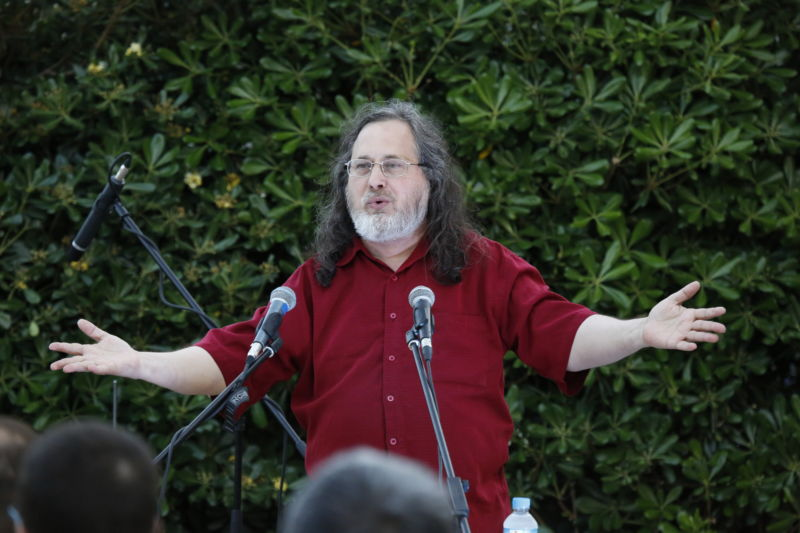 Richard Stallman leaves MIT after controversial remarks on rape