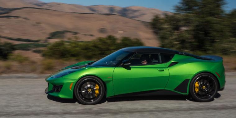 Driving the 2020 Lotus Evora GT makes me optimistic about Lotus' future