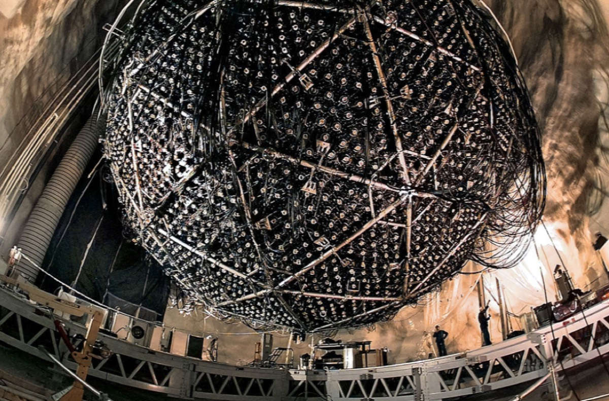 The Sudbury Neutrino Observatory.