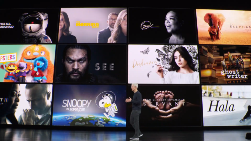 "When Apple TV+ landed on November 1, it did not include all of these original series, thanks to its ""soft launch."""