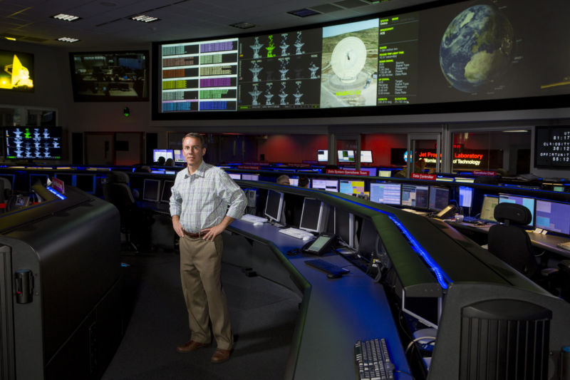 Bobby Braun, seen in Mission Control at NASA's Jet Propulsion, will move to the lab in early 2020.