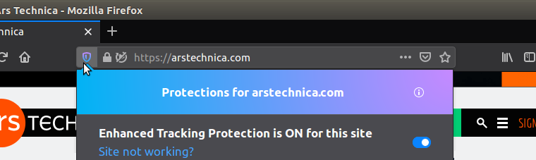 Firefox is stepping up its blocking game   Ars Technica