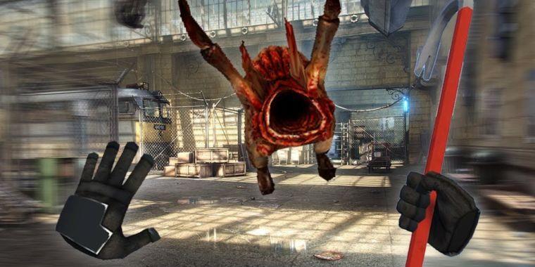 Recent Valve VR update contains hidden Half-Life demo code