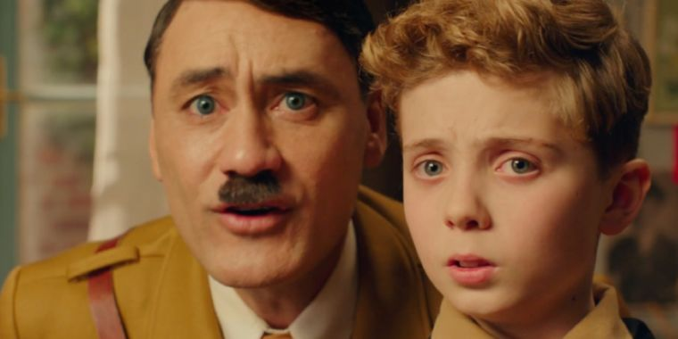 Taika Waititi plays imaginary Adolf Hitler for laughs in Jojo Rabbit trailer