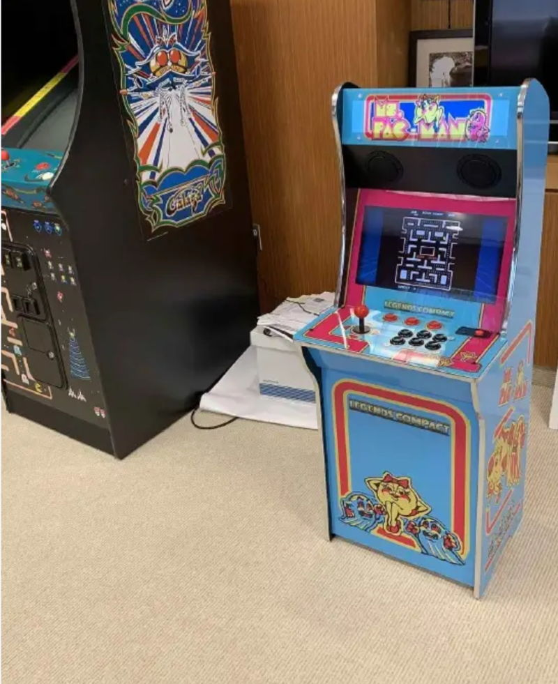 This AtGames prototype cabinet is at the heart of a legal battle over the rights to <em>Ms. Pac-Man</em>.