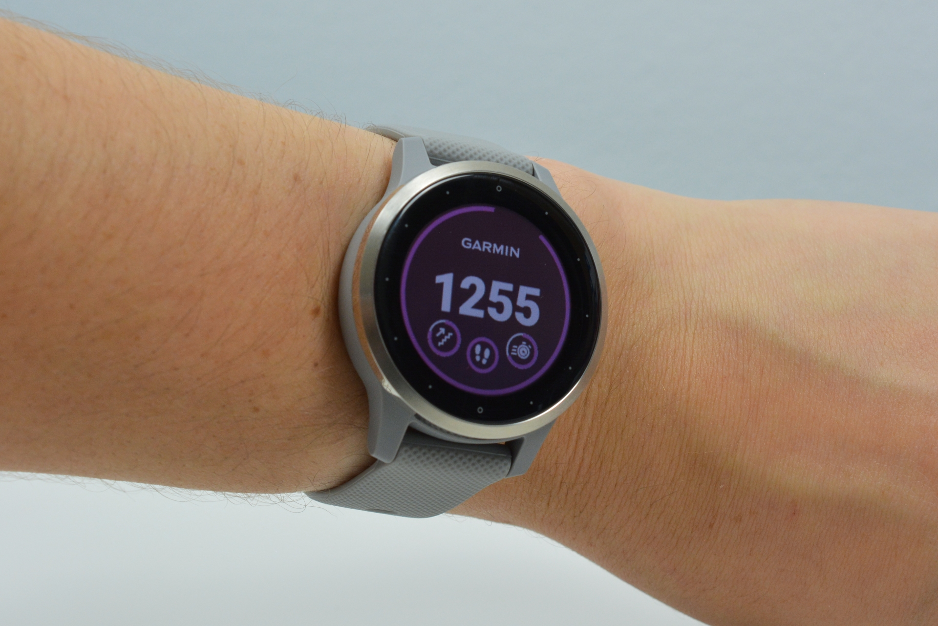 The Garmin Vivoactive 4s.