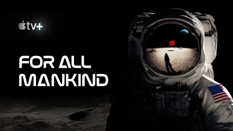 Promotional image for Apple TV show For All Mankind.