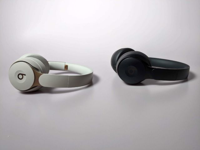 The Beats Solo Pro are on-ear noise-cancelling headphones.