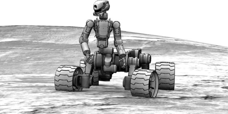 Russia wants to remove space robot's legs, give it wheels, send it to the Moon