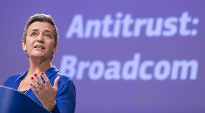 EU orders Broadcom to halt exclusivity deals while investigation deepens