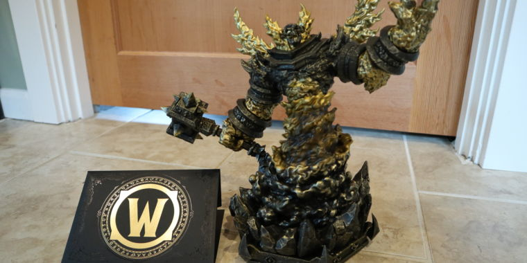 World of Warcraft celebrates 15 years with a $100 Firelord statue