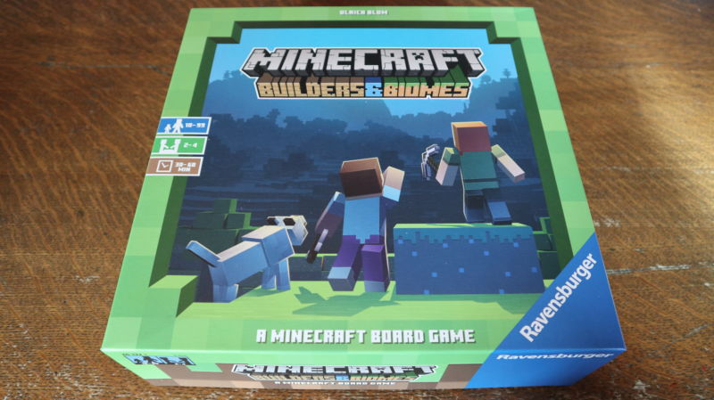 Minecraft becomes a board game, and the results are faithful, fantastic