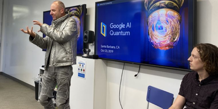 Inside Google's quantum computing efforts
