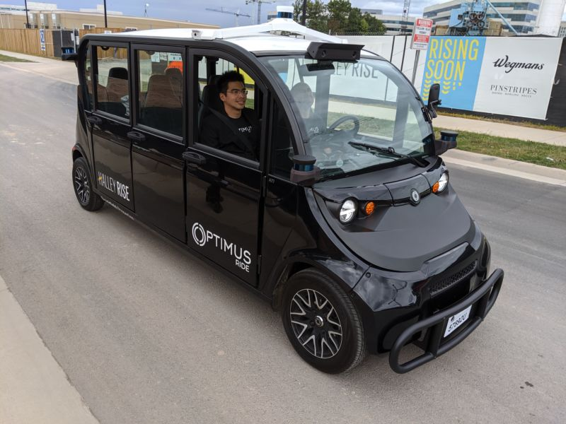 How self-driving shuttles could enable car-free living in the suburbs
