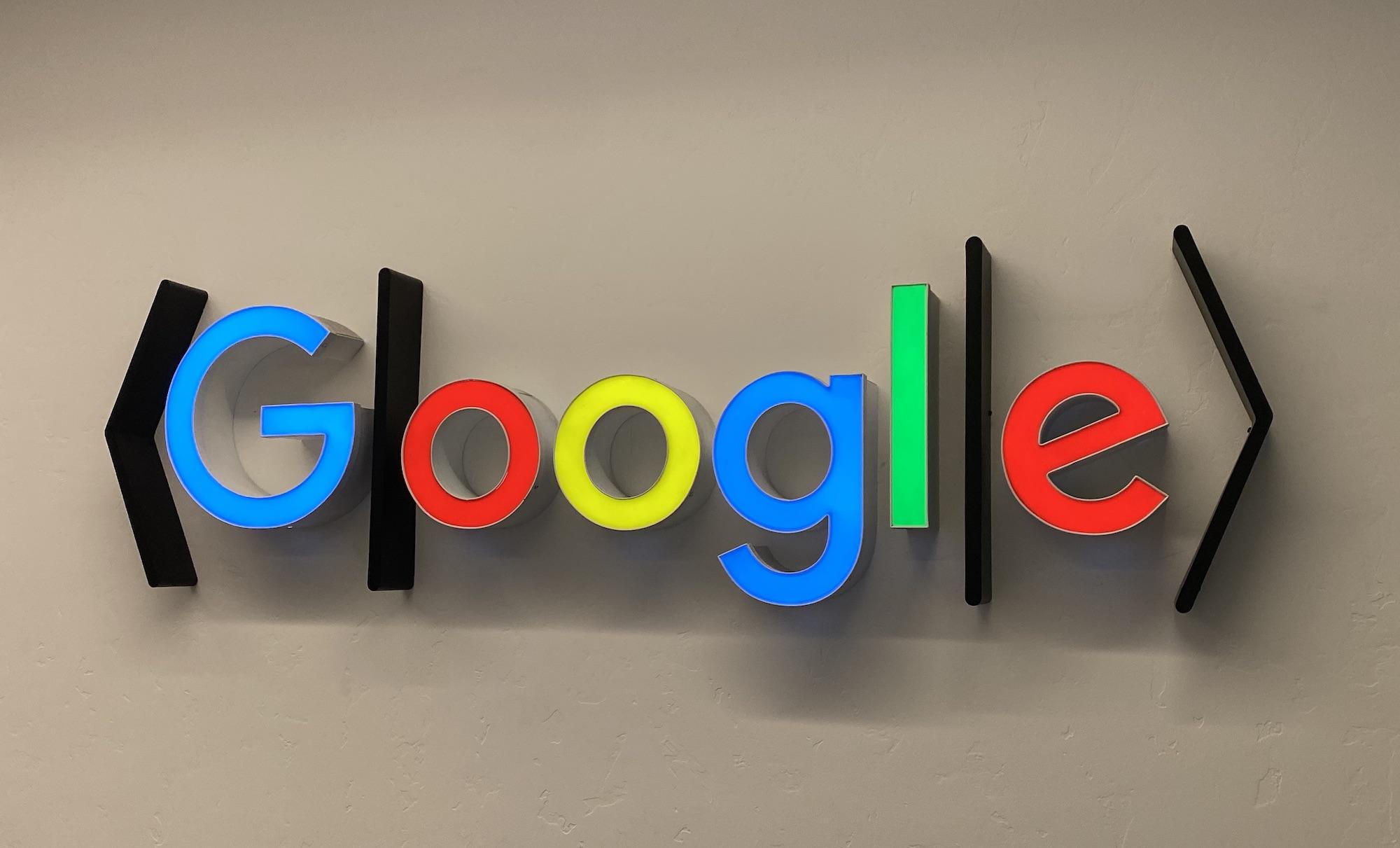The Santa Barbara crowd has given the Google logo a distinctly quantum twist.