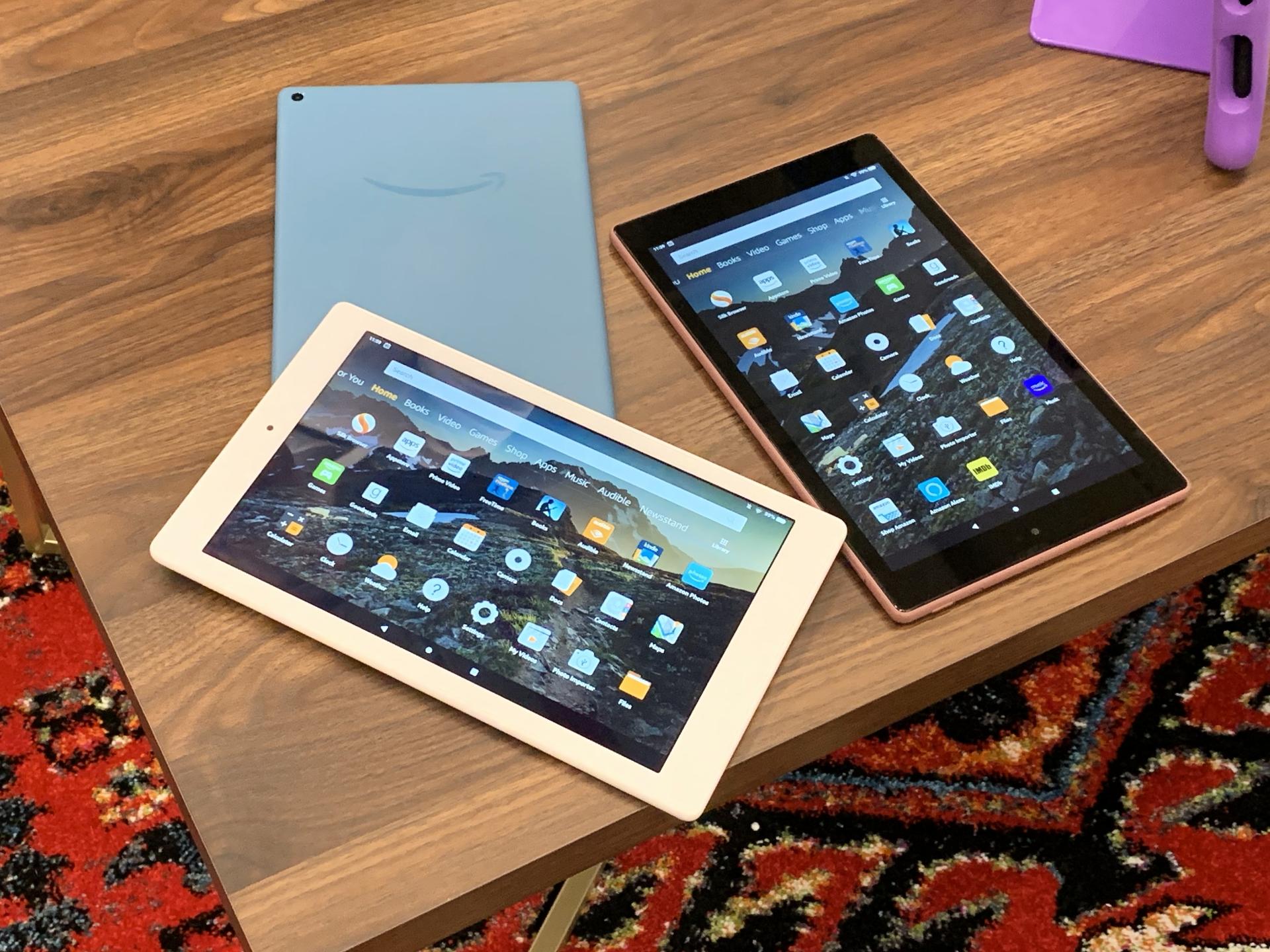 Amazon's Fire HD 10 tablet.