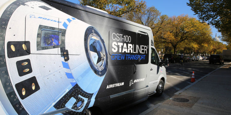Airstream builds Astrovan II for Boeing CST-100 astronaut transport