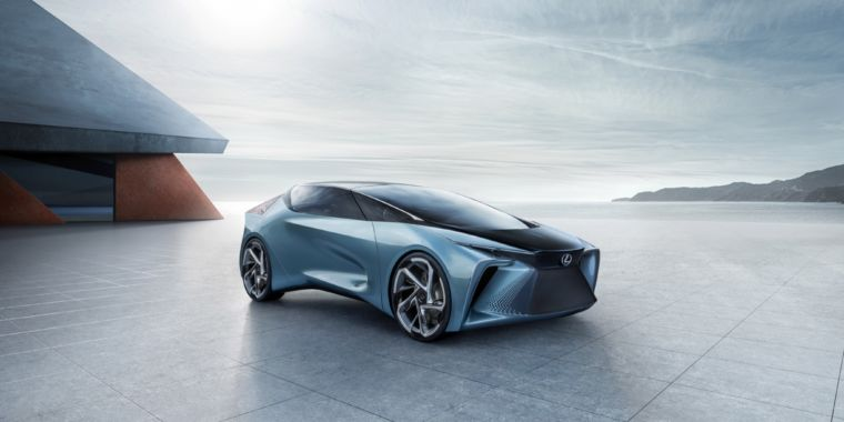 Future Cars 2020 >> This Concept Looks To The Future As Lexus Builds Bev For