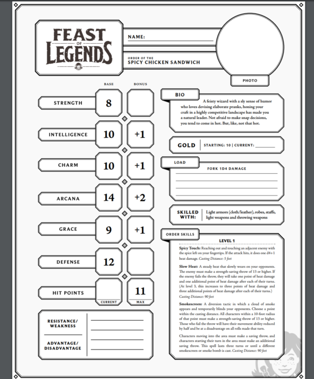 Indigestion, save ends: Wendy's releases a massive D&D-style