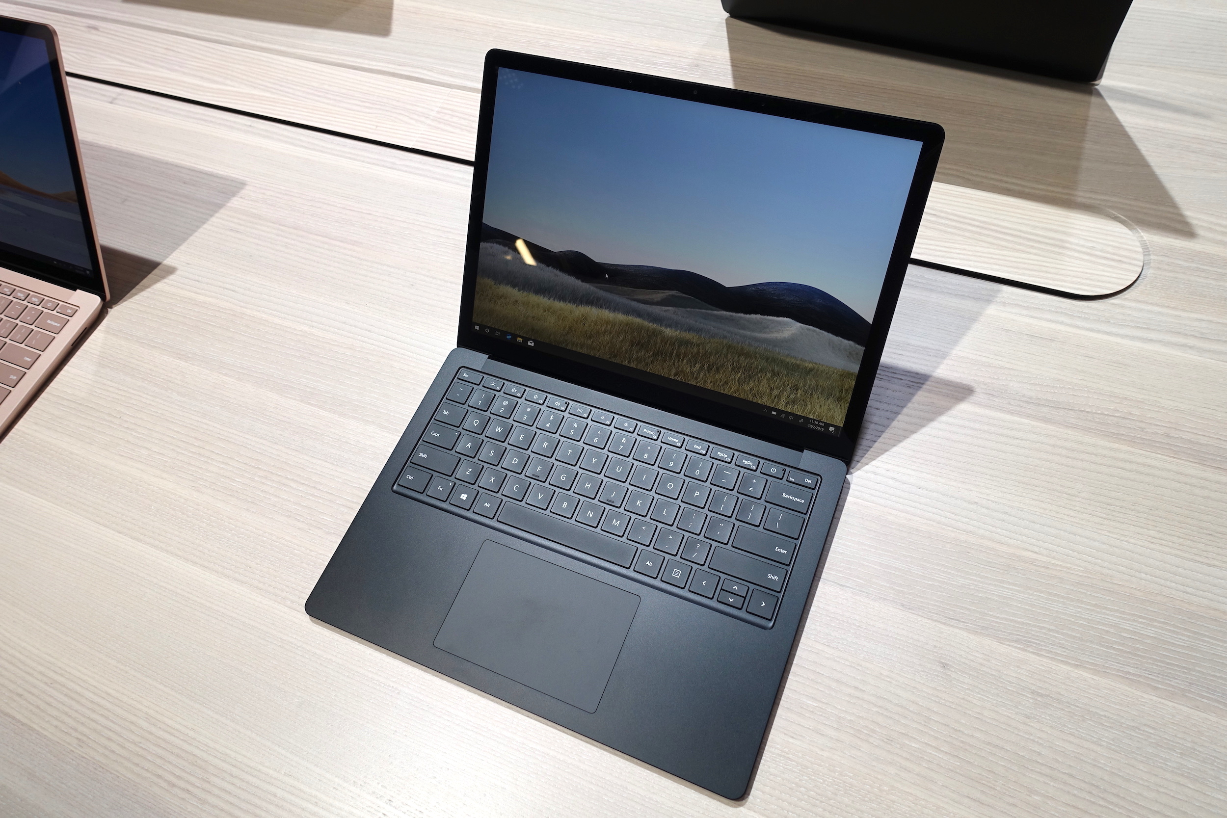 The 13.5-inch Microsoft Surface Laptop 3.