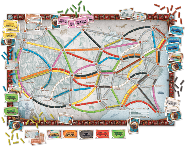 ticket to ride usa map Ranked Every Ticket To Ride Map Ars Technica