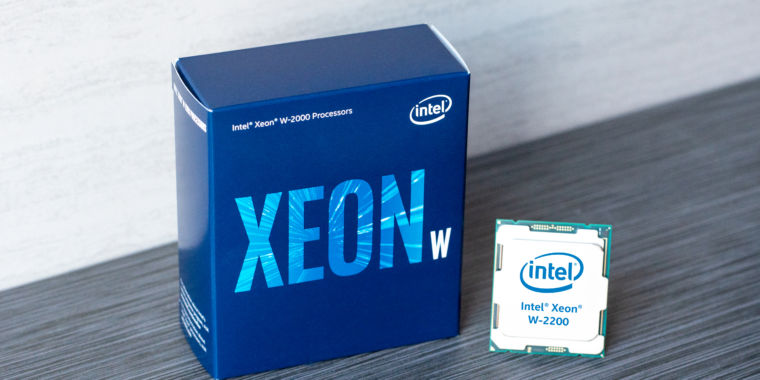 Intel adds Xeon W-2200 series to its 2019 HEDT lineup