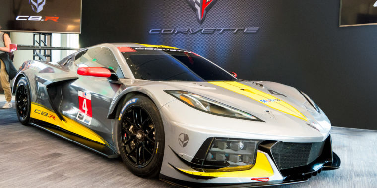 Behold Corvette's new racing car, now with its engine in the middle