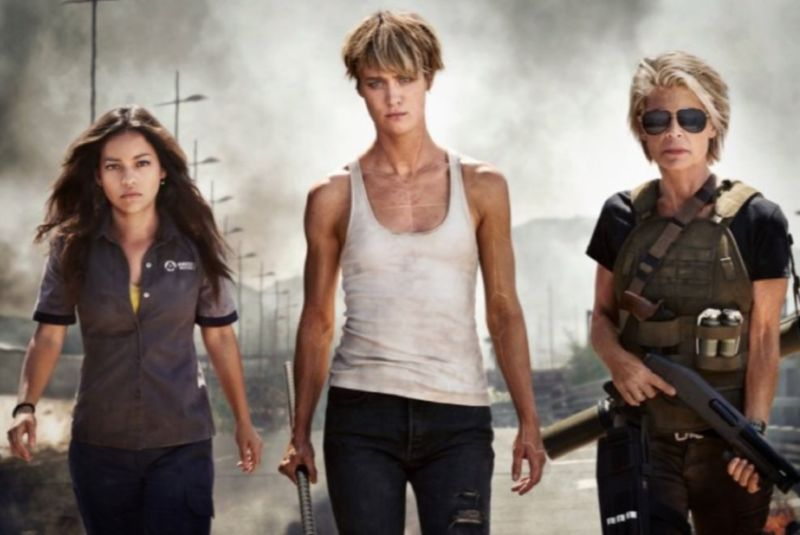 Promotional image for Terminator: Dark Fate.