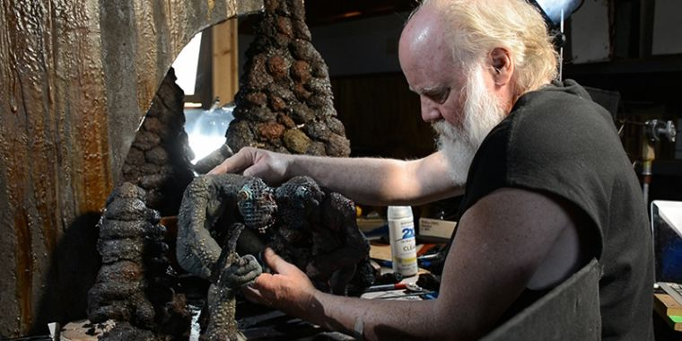 He brought Star Wars, Jurassic Park to life—so a new doc animates Phil Tippett