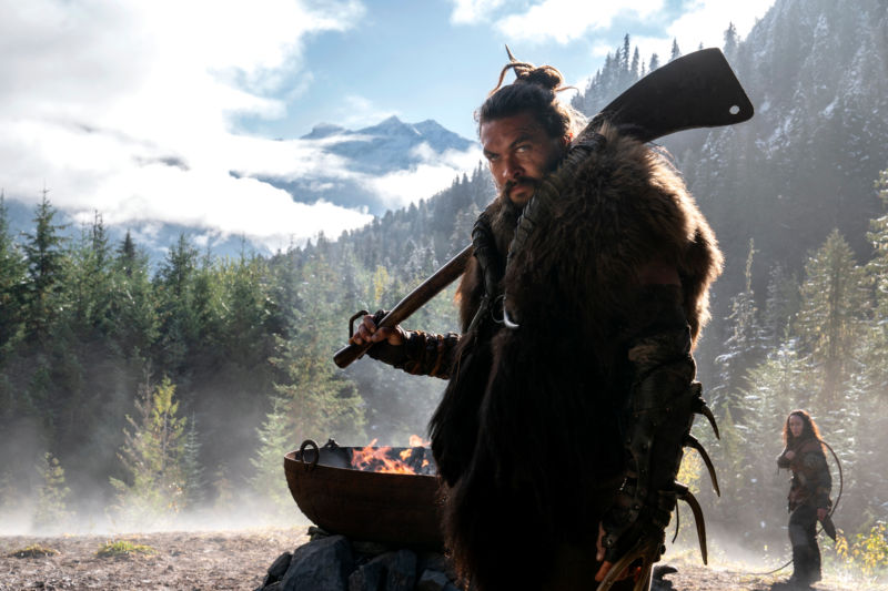 Jason Momoa's character in <em>See</em> would like to ask you some questions. They're mostly about what the heck things look like, because his character is blind. So is pretty much everyone else.