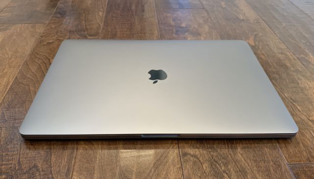 The 2019 16-inch MacBook Pro.