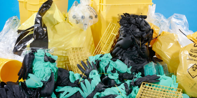 Can science break its plastic addiction?