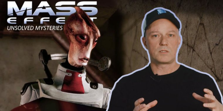 Video: A chat with Mac Walters on the unsolved mysteries of the Mass Effect universe