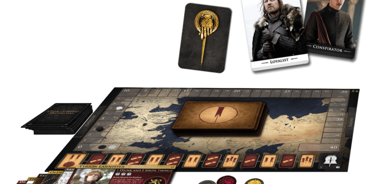 Turn your tabletop into a real Game of Thrones with Oathbreaker game