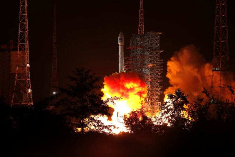 The 49th Beidou navigation satellite was successfully launched by a Long March 3b carrier rocket from the Xichang Satellite Launch Center in southwest China on November 5, 2019.