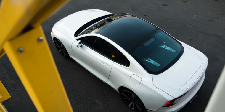 The Polestar 1 is a turbocharged, supercharged, plug-in hybrid enigma
