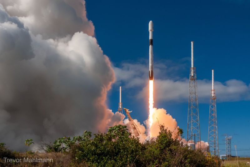 SpaceX launched its first batch of operational Starlink satellites in November.