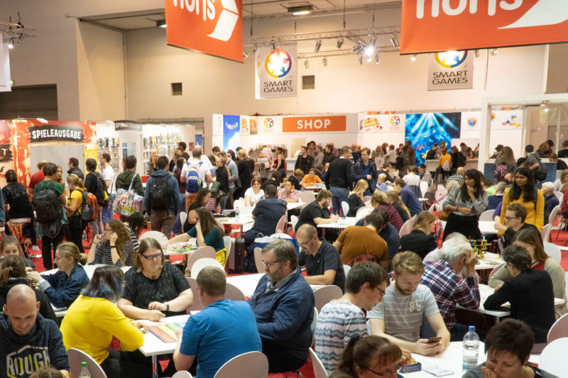 There were a <em>lot</em> of people at Essen this year.