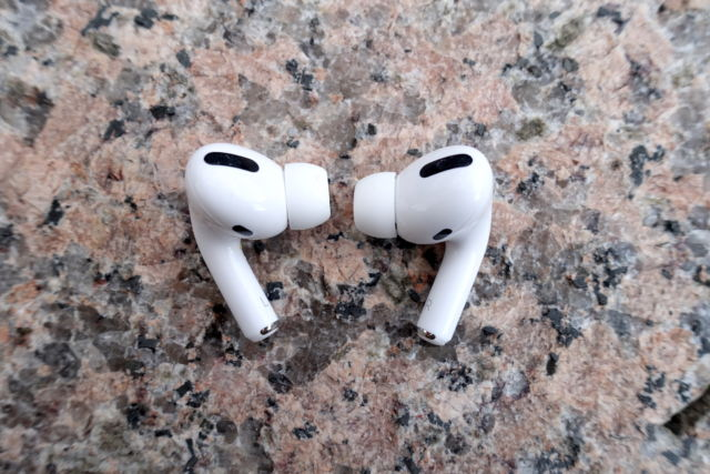 Apple's AirPods Pro.