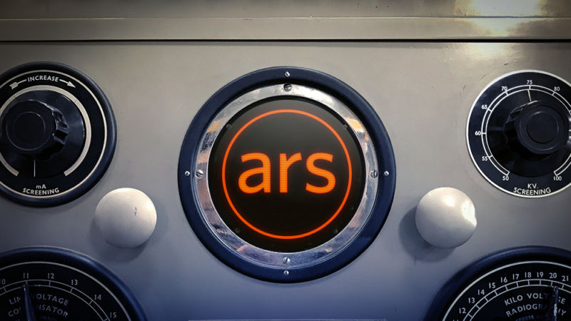 The Ars Technica logo has been photoshopped onto a stock photo of dials and knobs.