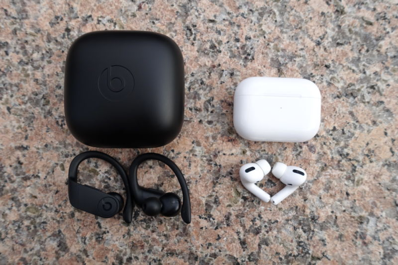 beats powerbeats pro and apple airpods pro