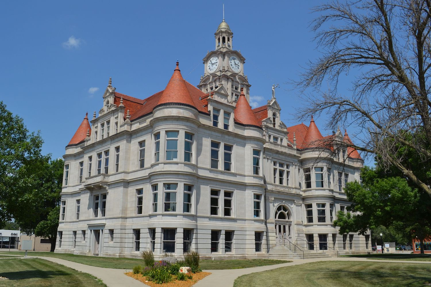 The Dallas County Courthouse in Adel, Iowa.