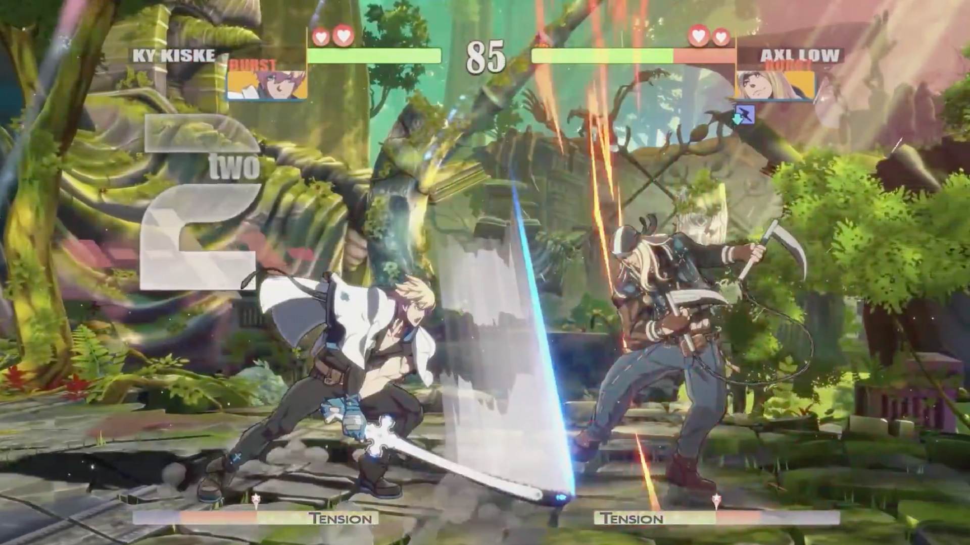 """The beta build of <em>Guilty Gear Strive</em>'s UI is not """"close to being final whatsoever,"""" and it shows."""
