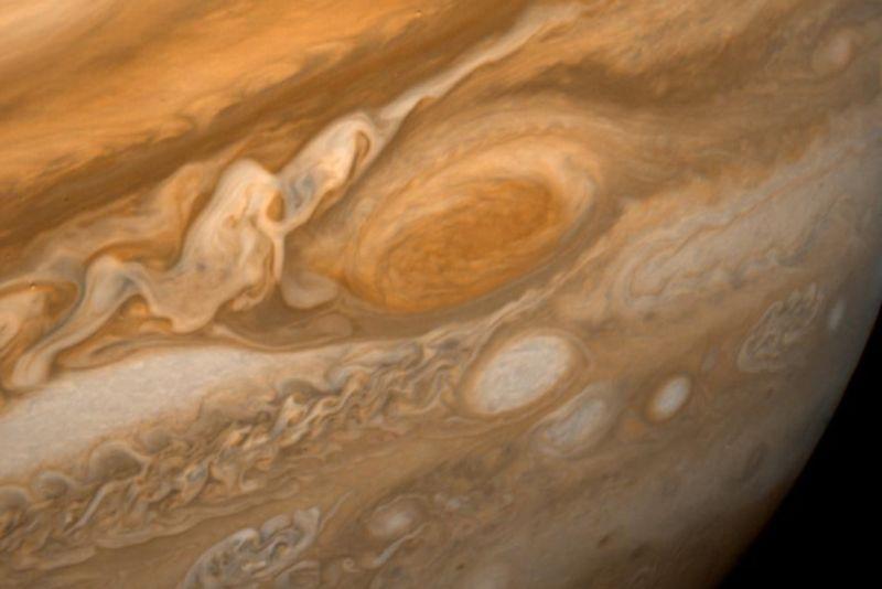 Photograph of Jupiter.
