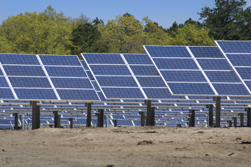 Image of solar panels