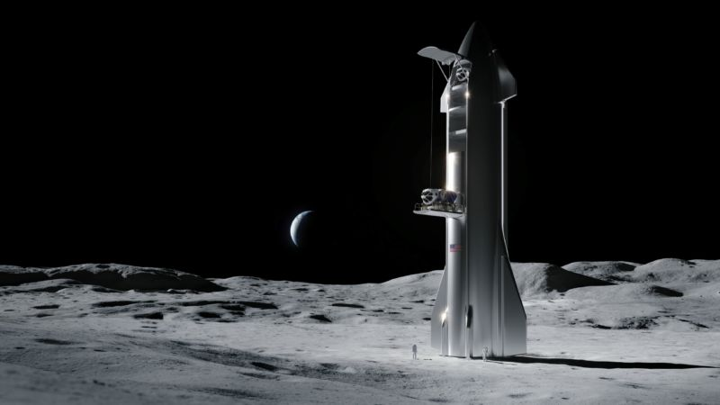 A spaceship on the moon? This can happen in as few as three years.