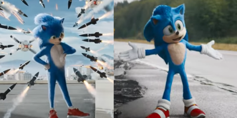 Sonic The Hedgehog S Movie Look Is Fixed Following Fan Outcry Ars Technica